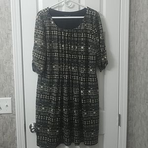 Perceptions dress sz xxl
